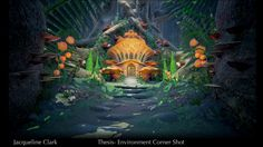 FruitHead- Stylized Fantasy Game by Jacqueline Clark from Ringling College Of Art And Design via @therookiesco