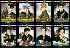 [DL/OFFICIAL] EXO - Digital Booklet : 'THE WAR : THE POWER OF MUSIC' from iTunes  Cr. @knockknock0408