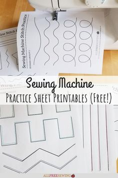 Quilting Stitch Patterns, Machine Quilting Patterns, Quilting Tips, Free Motion Quilting, Quilting Tutorials, Machine Embroidery Designs, Sewing Crafts, Sewing Projects, Sewing Basics