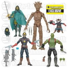#GuardiansOfTheGalaxy Comic Edition #MarvelLegends Action Figure Set - #EntertainmentEarth Exclusive http://www.toyhypeusa.com/2015/04/24/guardians-of-the-galaxy-comic-edition-marvel-legends-action-figure-set-entertainment-earth-exclusive/ #Hasbro #Marvel #GOTG