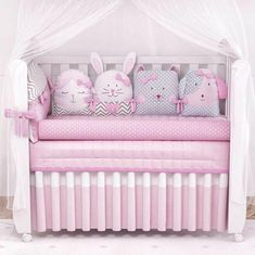 16 Ideas For Baby Cribs Pillows Baby Crib Bumpers, Baby Crib Bedding, Baby Cribs, Quilt Baby, Crib Pillows, Baby Corner, Nursery Room Decor, Baby Boy Rooms, Baby Sewing