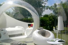 Casa Bubble  Cool outdoor spaces