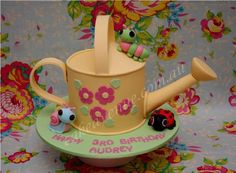 Watering Can Cake - Cake by CakeAvenue