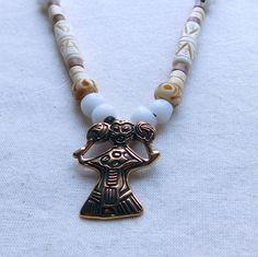 Wikinger Halskette Walküre Bronze von BelanasSchatzkiste auf Etsy