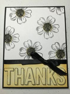 Stampin Up Flower Shop and For Being You