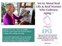 ‪#‎Healthy‬ ‪#‎Quote‬ Real Life. Real Aging. EPi3--Looking Healthy & Amazing-Start Now! www.EPi3.com ‪#‎EPi3SkinRenewal‬