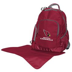Arizona Cardinals Trainer Backpack Diaper Bag