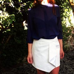 assymetric skirt tutorial