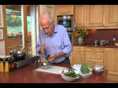 Michel Roux Poached Salmon with Bois Boudran Sauce YouTube - YouTube