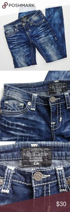 """Big Star """"Liv"""" Jean Like new Big Star """"Liv"""" Jean. Size 28R. Inseam - 32"""", 6.5"""" bottom opening, and 8"""" front rise. These have an acid wash type look to them. Great condition.  Questions welcome. Big Star Jeans"""