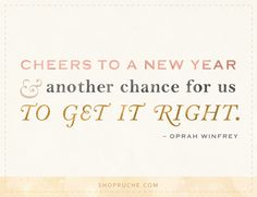 Another Chance: New Year Quote