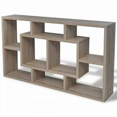 17 Stories This stylish accent shelf will become the focal point of any room. It has open compartments, serving as the perfect place to display items such as books, collectables, photos, awards, potted plants, etc. It is made of high-quality materials. Cube Shelves, Wall Mounted Shelves, Display Shelves, Storage Shelves, Shelving, Living Room Furniture, Home Furniture, Regal Display, Wall Cubes