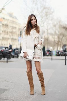 6 Ways To Style A Miniskirt When It's Cold Out