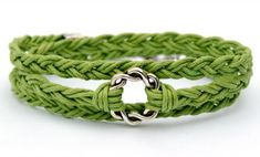 Woven Cotton Cord BraceletFree Diy Jewelry Projects | Learn how to make jewelry - beads.us