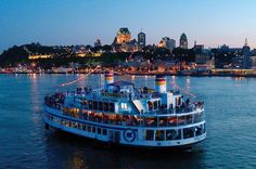 Louis-Jolliet Boat   AML Cruises
