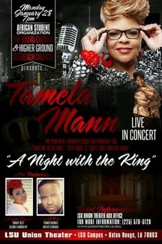 #TakeMeToTheTickets #gospel #contest #hashtag #twitter #facebook #socialmedia #instagram #god #lord #TakeMeToTheTickets #takemetotheking #TamelaMann Make sure you repost this flyer and add the hashtag #TakeMeTotheTickets and win 2 #tickets to the concert in #batonrouge #LA.