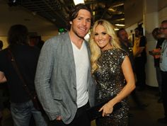 Carrie Underwood with Husband Mike Fisher at the 2012 CMT Music Awards