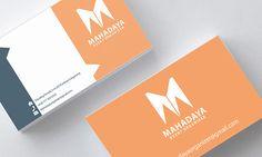 mahadaya event organizer name card on Behance