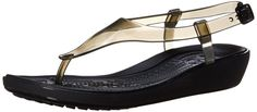 crocs Women's Really Sexi T-Strap Sandal >> Awesome product. Click the image : Sandals