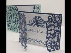 filigrane Grußkarten mit dem Produktpaket Florale Grüße | Basteln mit der Hobbycompany Quickborn und Stampin`Up