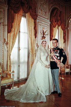 Princess Grace and Prince Rainier Wedding