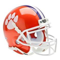 Clemson Tigers NCAA Authentic Mini 1/4 Size Helmet