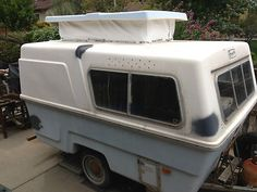 1973 Vintage Compact II by Hunter Fiberglass Camper Trailer Baby Sized 10' Light in RVs & Campers | eBay Motors