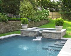 Contemporary Pool Design, Pictures, Remodel, Decor and Ideas