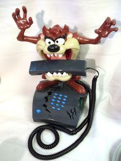 Talking Taz Phone! Hilarious!
