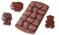 Schokoladen-Pralinen in Tierform ganz einfach selber machen