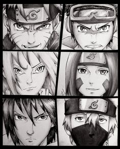 Naruto & Obito. Sakura & Rin. Sasuke & Kakashi.