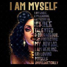 Black Love Art, Black Girl Art, Black Girl Magic, Afro Hair Clipart, Strong Black Woman Quotes, Afro Hair Art, Afro Ponytail, Girl God, Queen Art