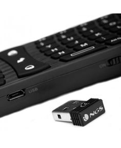 TECLADO INALAMBRICO NGS TV HUNTER ULTRA MINI AIR MOUSE SMART TV ANDROID TV PC  28,45 € impuestos incluidos.