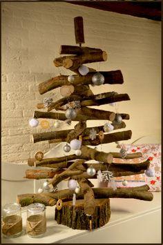 Workshop kerstboom maken van hout!