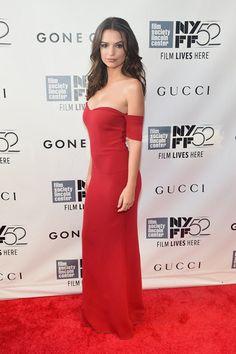 "Emily Ratajkowski || ""Gone Girl"" NYC Premiere || September 2014"