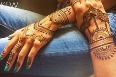 Mother & daughter Henna
