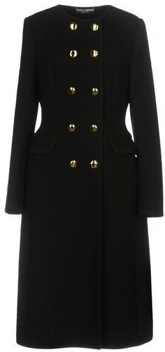 Worn November 12, 2017, at Remembrance Sunday - Dolce & Gabbana Collarless Long Coat - What Would Catherine Wear?