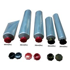 some kinds of octagonal cap with tube