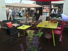 The @fermob area of our @growlondon stand