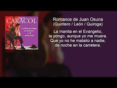 Manolo Caracol - Romance de Juan Osuna (con letra - lyrics video)