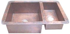 #Handcrafted #Copper #Sink CKS004  This handcrafted copper sink for #kitchen can be installed in the counter as drop-in and undermount. The surface is hammered and the sink CKS004 available in four sizes ranging from small to extra large. No doubt #customcopper kitchen fixtures can add country style ingredient to an average looking kitchen. Since it is available in natural, honey, rustic and dark coffee finishing,