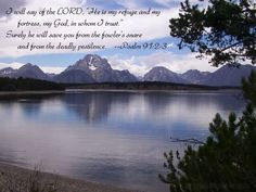 Psalm 91:2-3