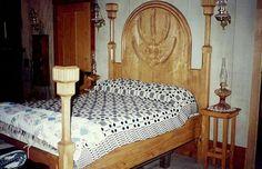 La cama de Sully y Michaela