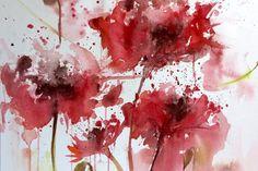 aquarelle fleur