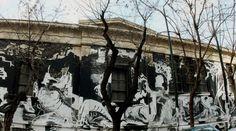 To graffiti στο Πολυτεχνείο, ένα χαστούκι - Hit&Run