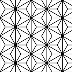 isosceles - outline fabric by sef on Spoonflower - custom fabric Simple Geometric Designs, Geometric Shapes, Pattern Art, Pattern Design, Blackwork, Geometric Stencil, Woodcut Art, Triangle Art, Cool Shapes