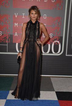 Chrissy Teigen aux MTV VMAs 2015