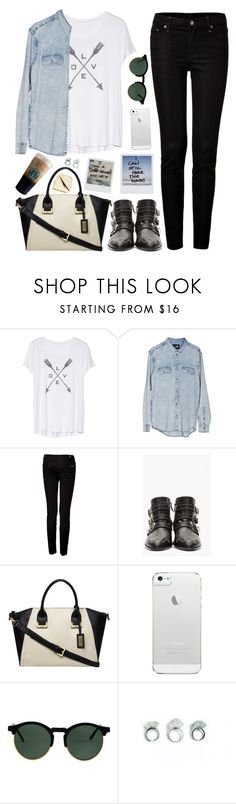 """California walk."" by felytery ❤ liked on Polyvore featuring Cheap Monday, 7 For All Mankind, Chloé, Fiorelli, Polaroid and American Apparel"