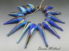 SRA HANDMADE LAMPWORK Glas Perlen Donna Millard von DonnaMillard