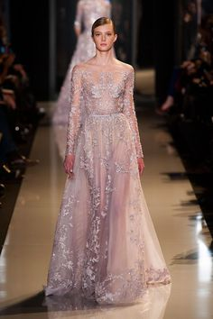Year after year, as the seasons went by and the trends changed accordingly, Elie Saab's haute couture collections have proven a timeless quality, an everlasting charm of some sort that didn't allow...